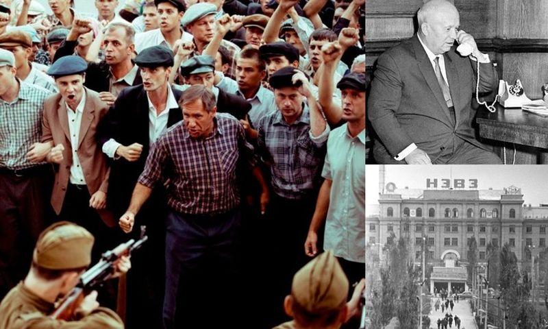 2 июня советские каратели расстреляли восставших рабочих Новочеркасска.Нынешняя преступная власть может это повторить