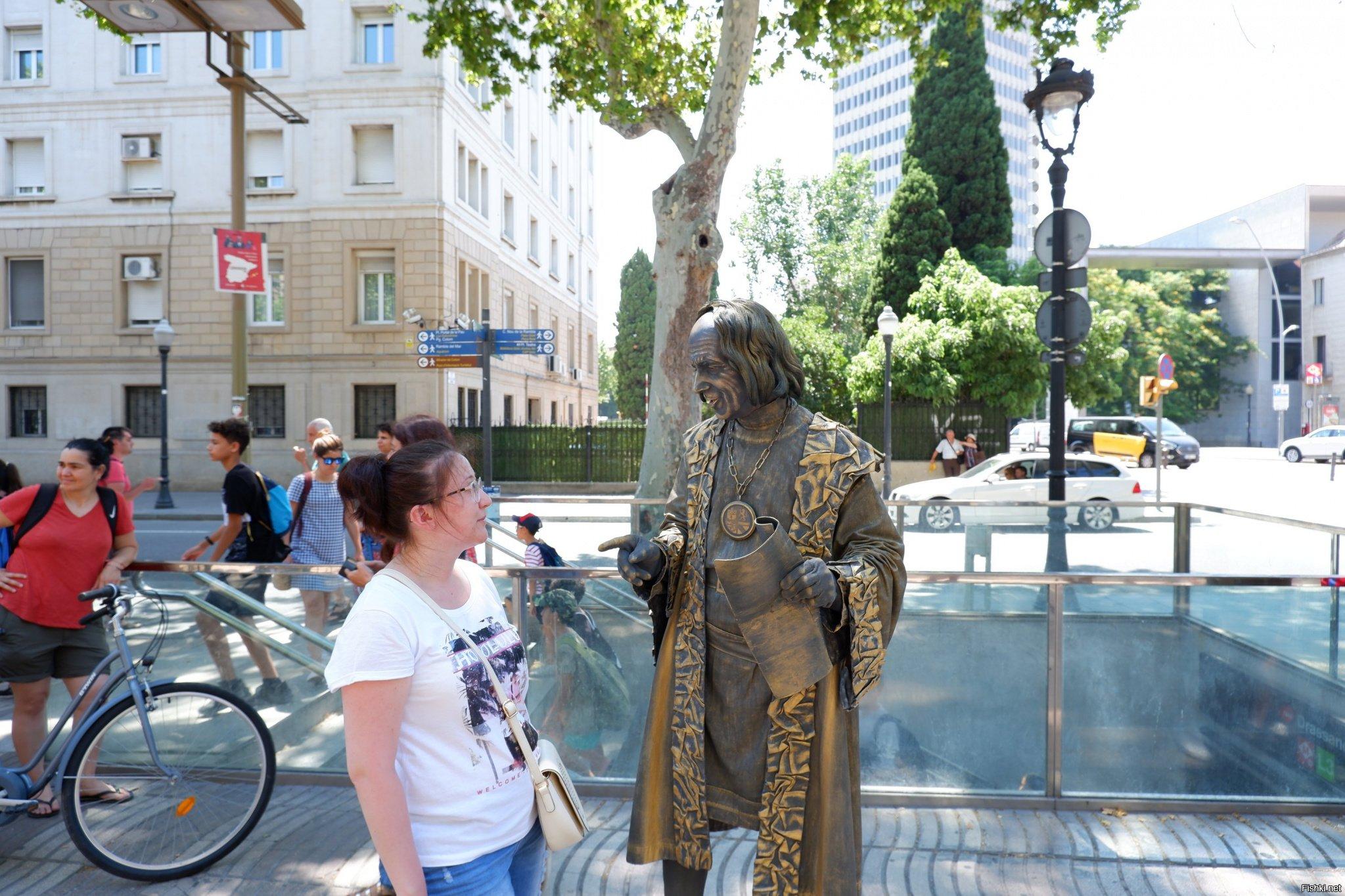 живые статуи фото средневековье результате смог