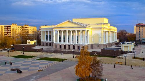 Новый театр в Тюмени