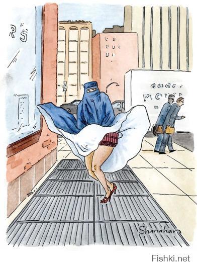 Мэрилин Монро по-исламски: