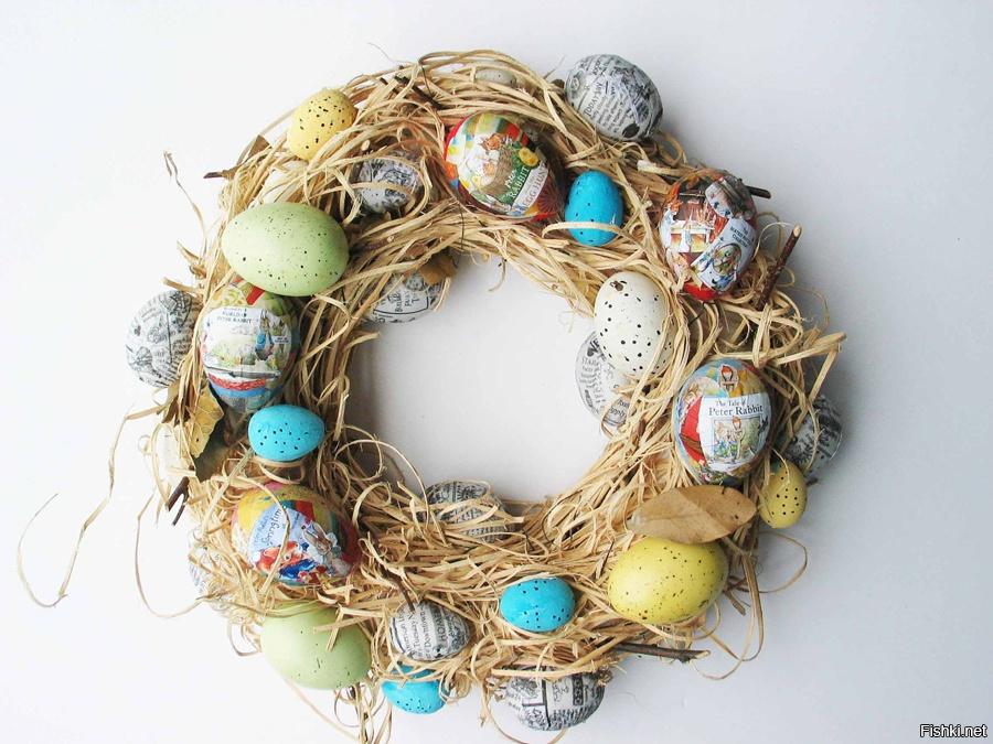 Несколько интересных способов покраски пасхальных яиц