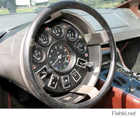 Самые невероятные автомобильные панели приборов из прошлого