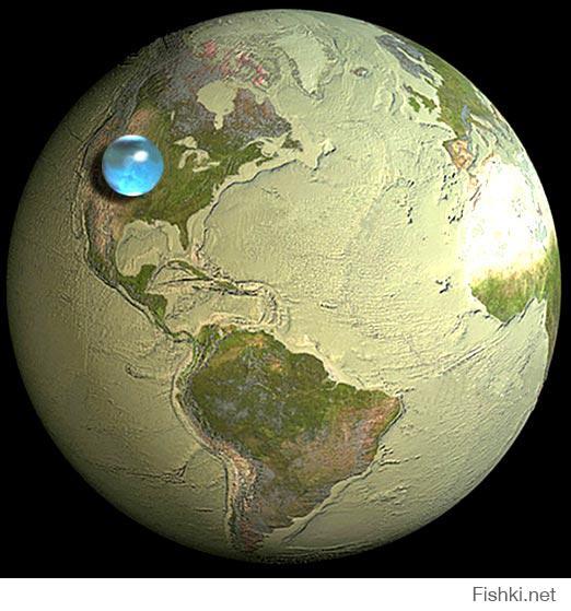 Не так. Высоты и глубины сильно преувеличены. Радиус земли, если мне память не изменяет, примерно 6400 км. Разница по высоте между Марианской впадиной и Эверестом, ну, пусть даже для ровного счета 20 км. Это, соответственно, царапина и камушек на поверхности огромного шара.